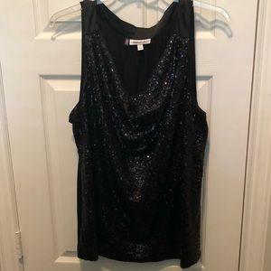 Sparkle sleeveless top, size 3x